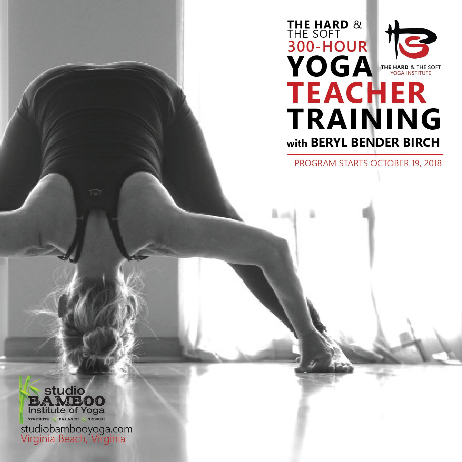 The Hard The Soft 300 Hour Yoga Teacher Training Power Yoga With